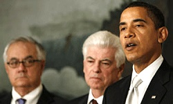 Barney Frank, Chris Dodd & Barak Obama