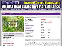 Investor Owned Homes For Sale or Rent