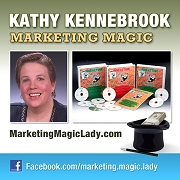 Marketing Magic Lady