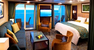 Oasis Ocean View Balcony Stateroom