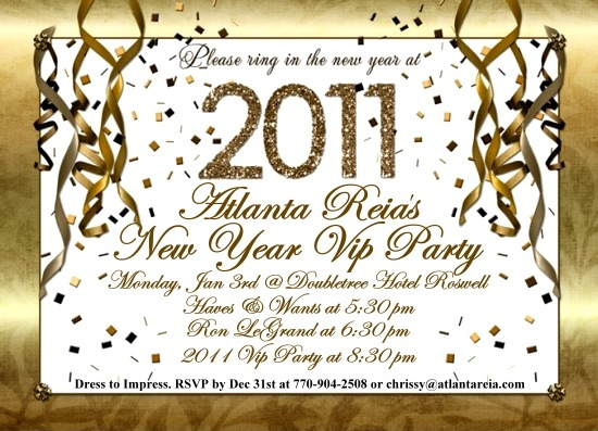 Atlanta REIA's 2011 New Year Meeting & VIP Party