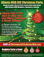 Atlanta REIA BIG Christmas Party