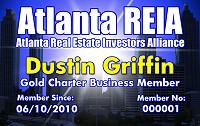 Atlanta REIA Membership Card