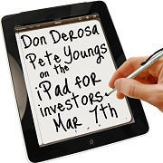 Don DeRosa & Pete Youngs on Using the iPad for Real Estate Investing