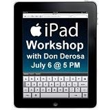 iPad Workshop with Don DeRosa