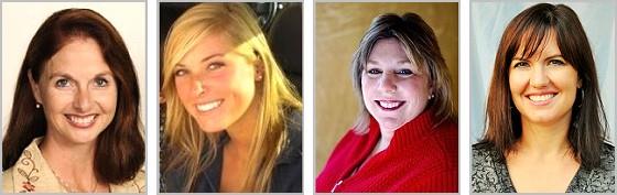 Dorsie Boddiford, Kim Cook, Regina Sitterley & Leslie Mathis
