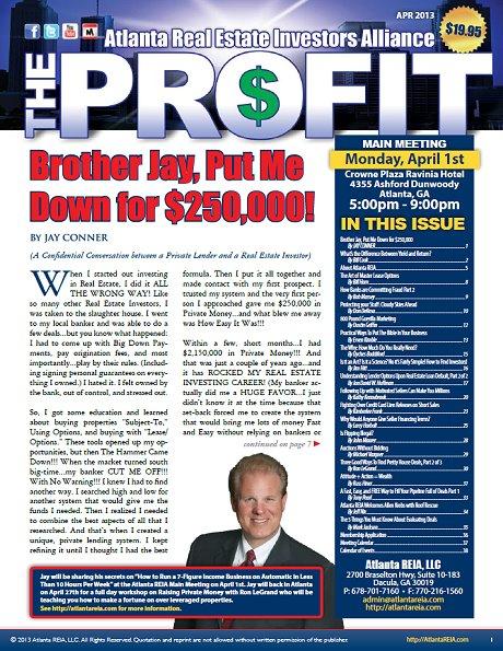 The Profit Newsletter - April 2013