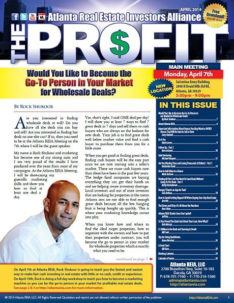 The Profit Newsletter - April 2014