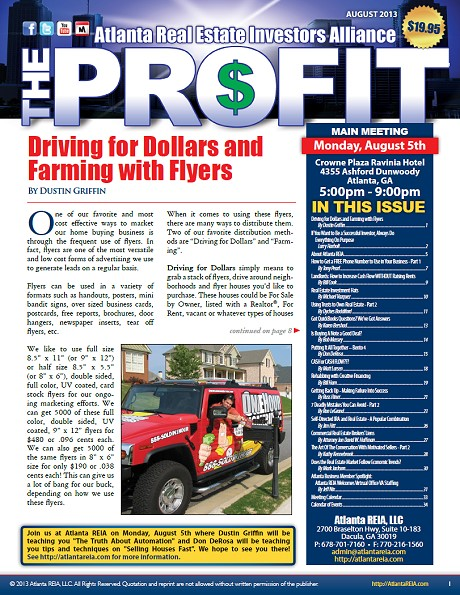 The Profit Newsletter - August 2013