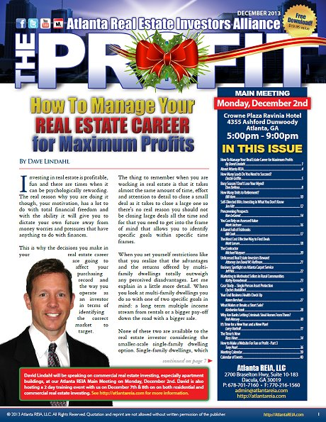 The Profit Newsletter - December 2013