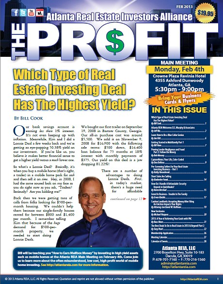 The Profit Newsletter - February 2013