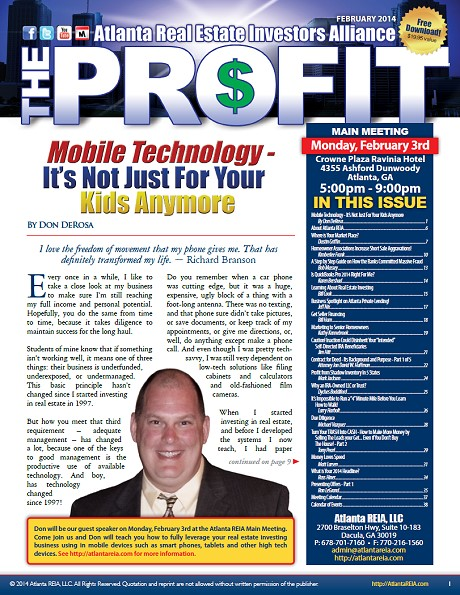 The Profit Newsletter - February 2014
