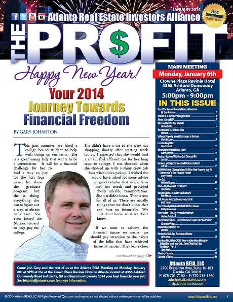 The Profit Newsletter - January 2014