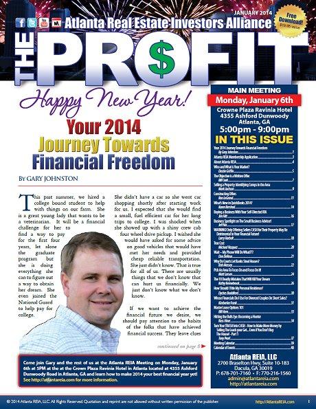 The Profit Newsletter - January 2014