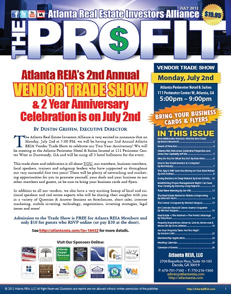 The Profit Newsletter - July 2012