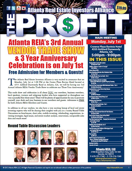 The Profit Newsletter - July 2013