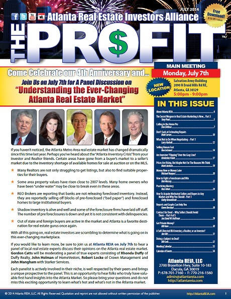 The Profit Newsletter - July 2014