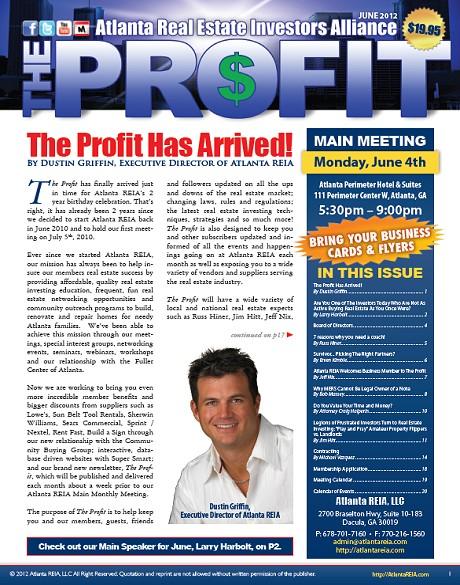The Profit Newsletter - June 2012