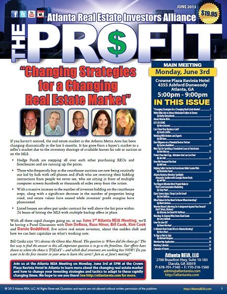 The Profit Newsletter - June 2013