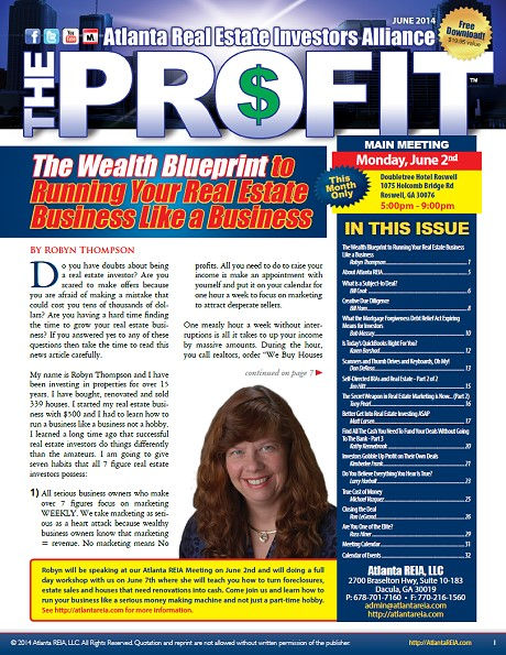 The Profit Newsletter - June 2014
