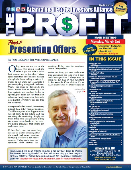 The Profit Newsletter - March 2014