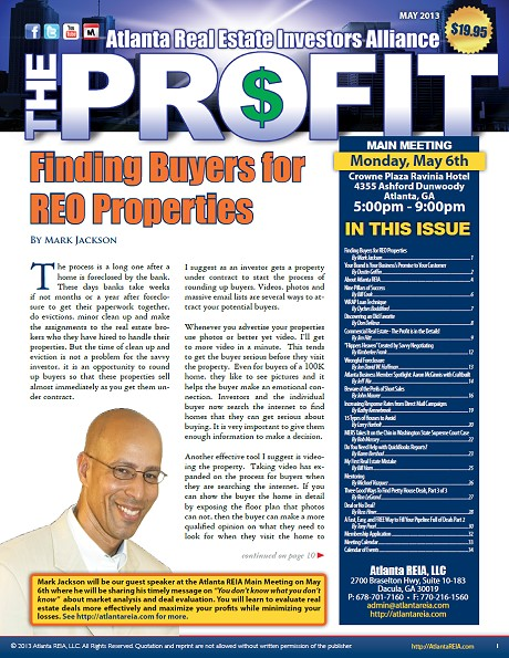 The Profit Newsletter - May 2013