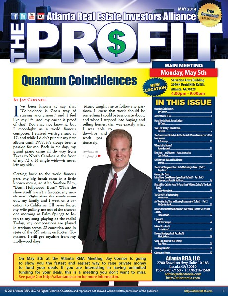 The Profit Newsletter - May 2014