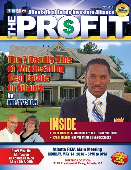 The Profit - The Official Newsletter of Atlanta REIA