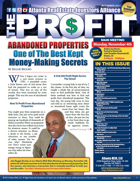 The Profit Newsletter - November 2013