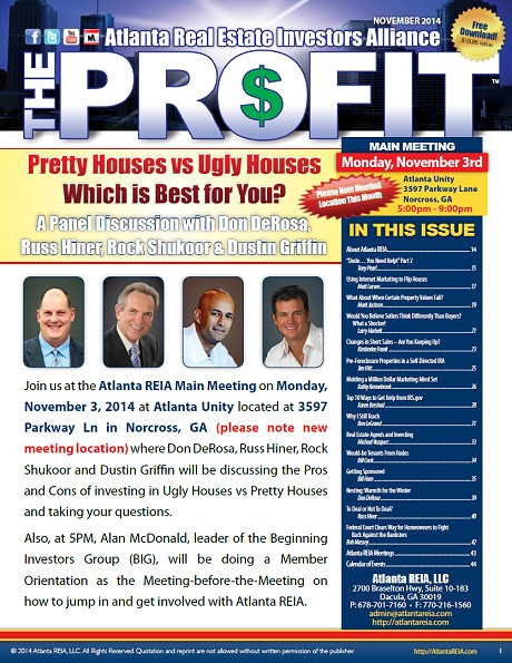 The Profit Newsletter - November 2014