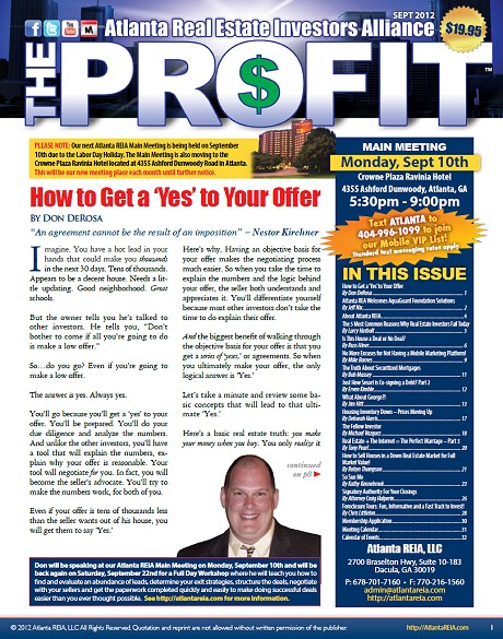 The Profit Newsletter - September 2012