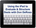 Webcast on iPad with Don Derosa