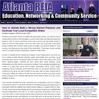 AtlantaREIA.com WordPress Site