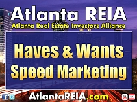 Atlanta REIA Speed Marketing