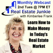 The Real Estate Junkie Webcast with Kimberlee Frank