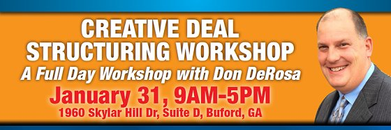 Creative Deal Structuring Workshop