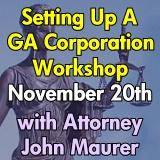Setting Up a Georgia Corporation Workshop